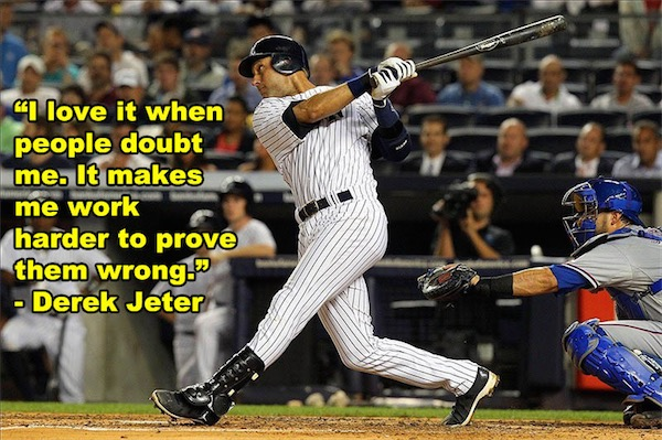 workout supplements sports quotes baseball derek jeter