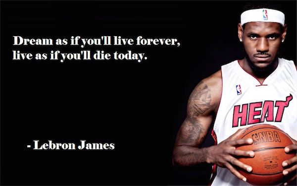 workout supplements sports quotes basketball lebron james forever