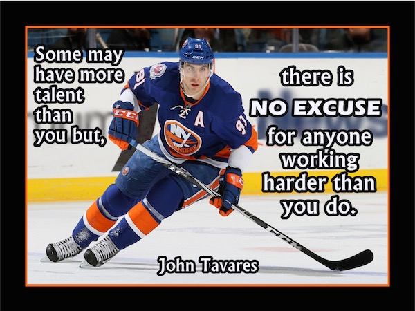 workout supplements sports quotes hockey john tavares