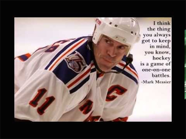 workout supplements sports quotes hockey marc messier