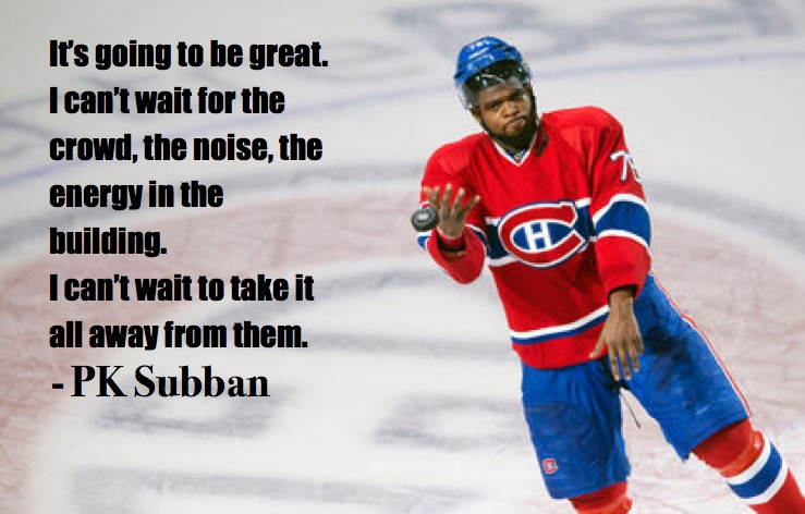 hockey quotes funny inspirational pk subban