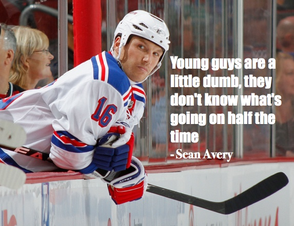 hockey quotes funny inspirational sean avery