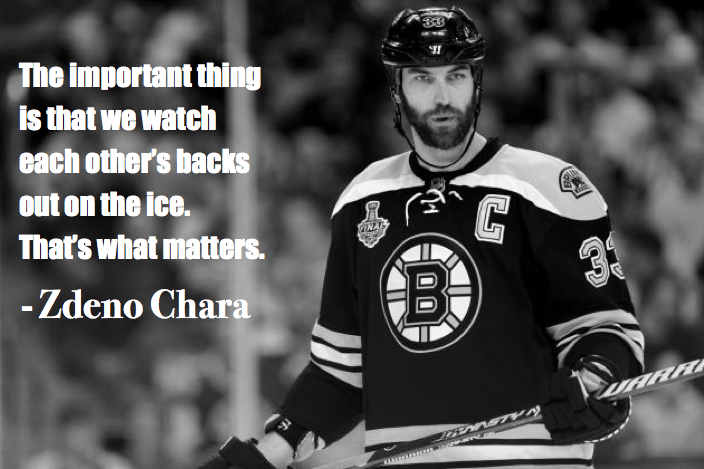 hockey quotes funny inspirational zdeno chara