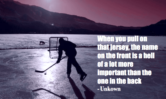 hockey quotes funny inspirational