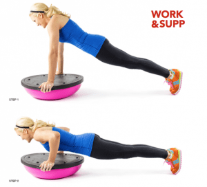 workout best bosu exercises push up