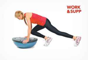 best workout bosu exercises forearm side plank bridge mountain