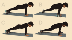 loose weight fast spider lunges