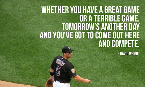workout supplements sports quotes baseball david wright