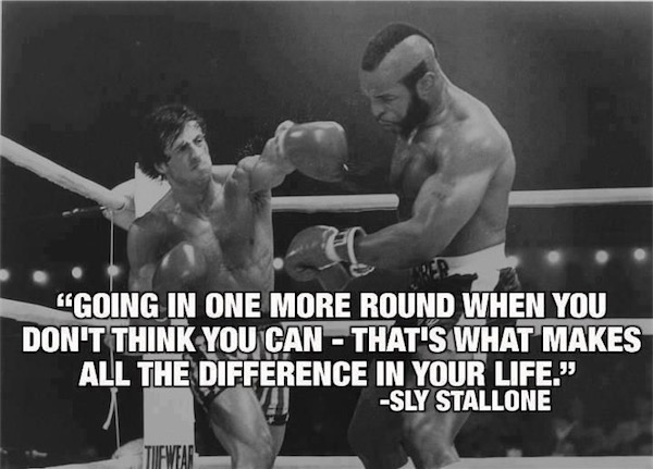 workout supplements sports quotes boxing movie rocky stallone