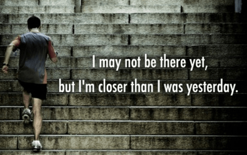 workout supplements sports quotes not there yet