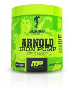 arnold pump top pre workout supplements