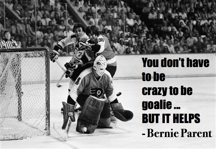 hockey quotes funny inspirational bernie parent
